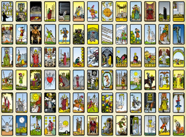 photograph about Printable Tarot Cards With Meanings Pdf called Tarot Playing cards