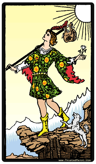 The Fool: The Fool Tarot Card Meaning