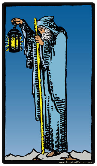 The Hermit Tarot Card Meaning In Readings Isolation: The Hermit Tarot Card Meaning