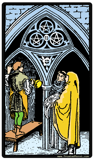 eight of pentacles reversed relationship outcome tarot