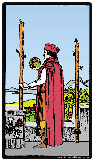 Image Result For Two Of Wands As Feelings