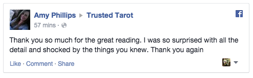 Tarot reading reviews